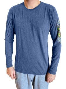 Mens long sleeve front